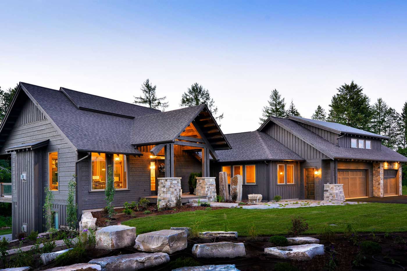 Image gallery montana homes for Montana home builders