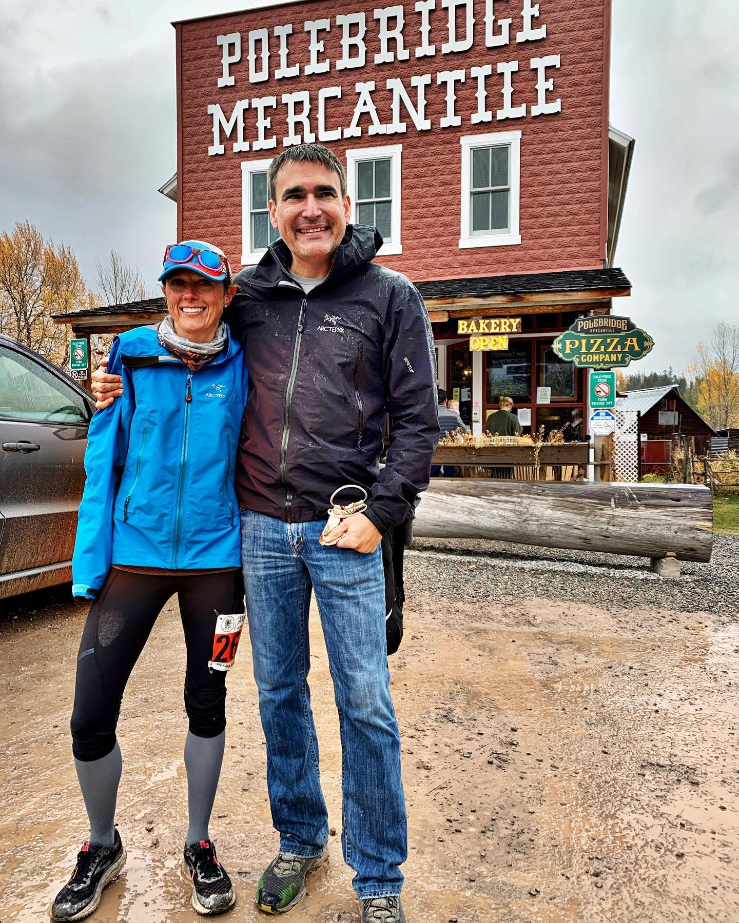 Big thank you to my partner and best friend who brings his family and supports my 50 mile runs in the woods (even if he really does think I'm crazy!) Team Old Montana whitefish custom home builder