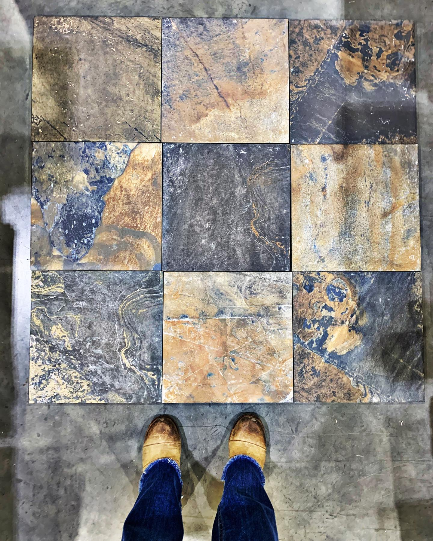 Themis tile is going to look like a work of art whitefish custom home builder