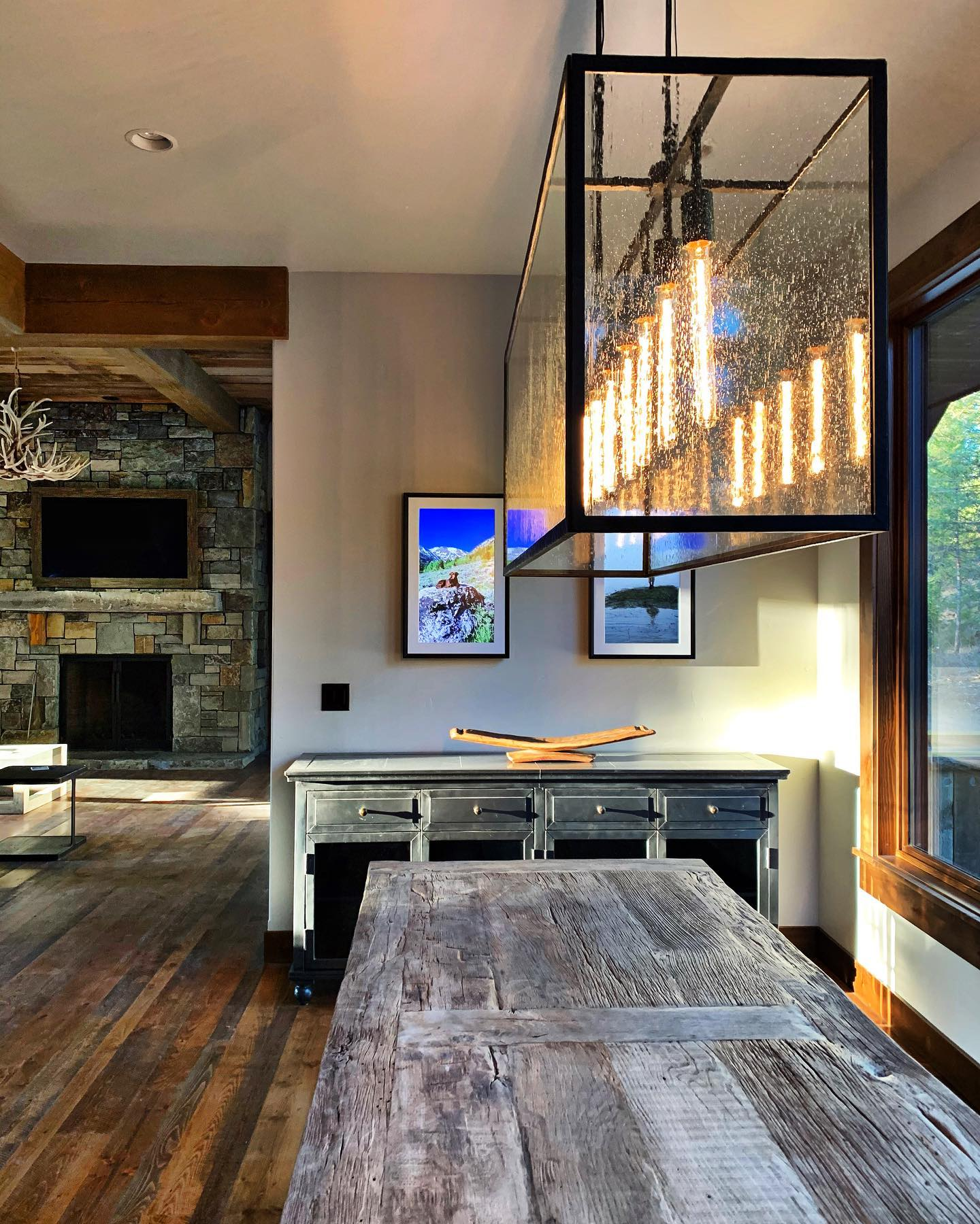 Shot of the day! whitefish custom home builder