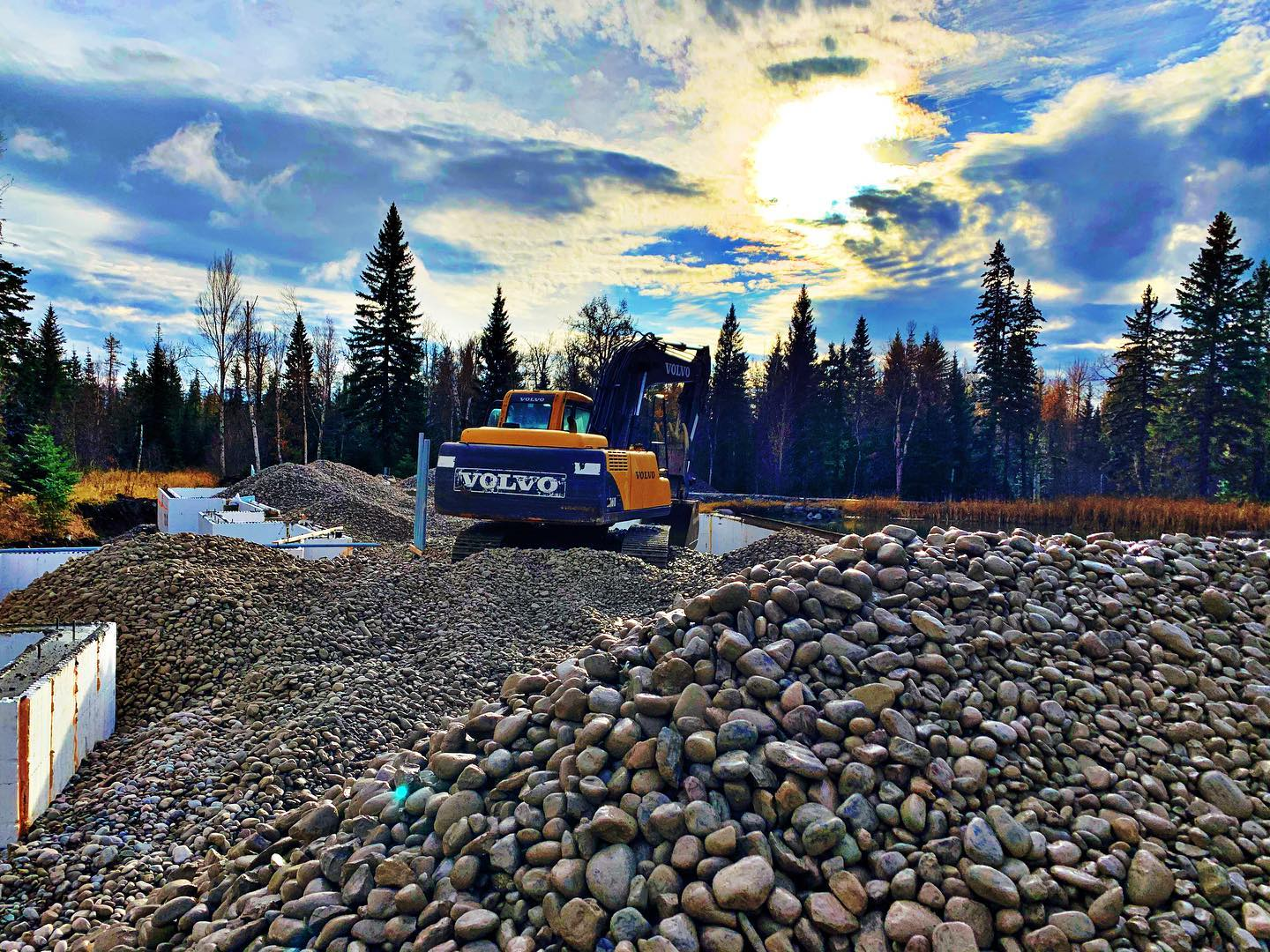 Starting the weekend (the only spot in the valley with sunshine!!) whitefish custom home builder