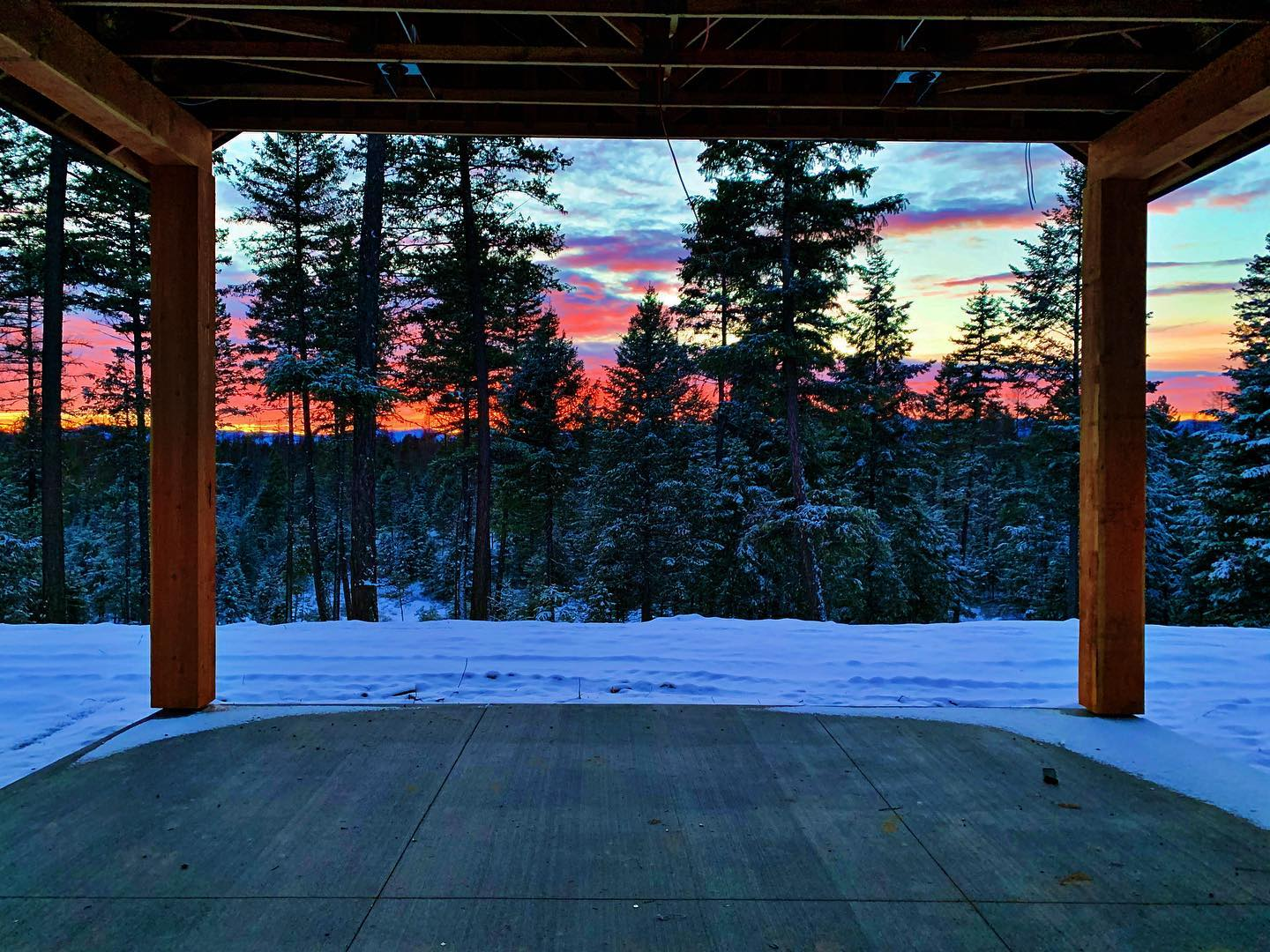 Can't ask for too much more than this! whitefish custom home builder