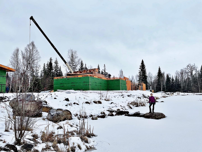 Progress!! whitefish custom home builder