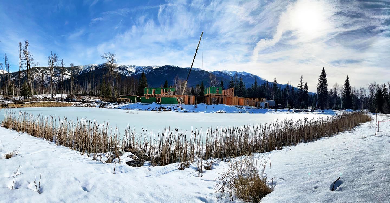 Happy Monday! ️️ whitefish custom home builder