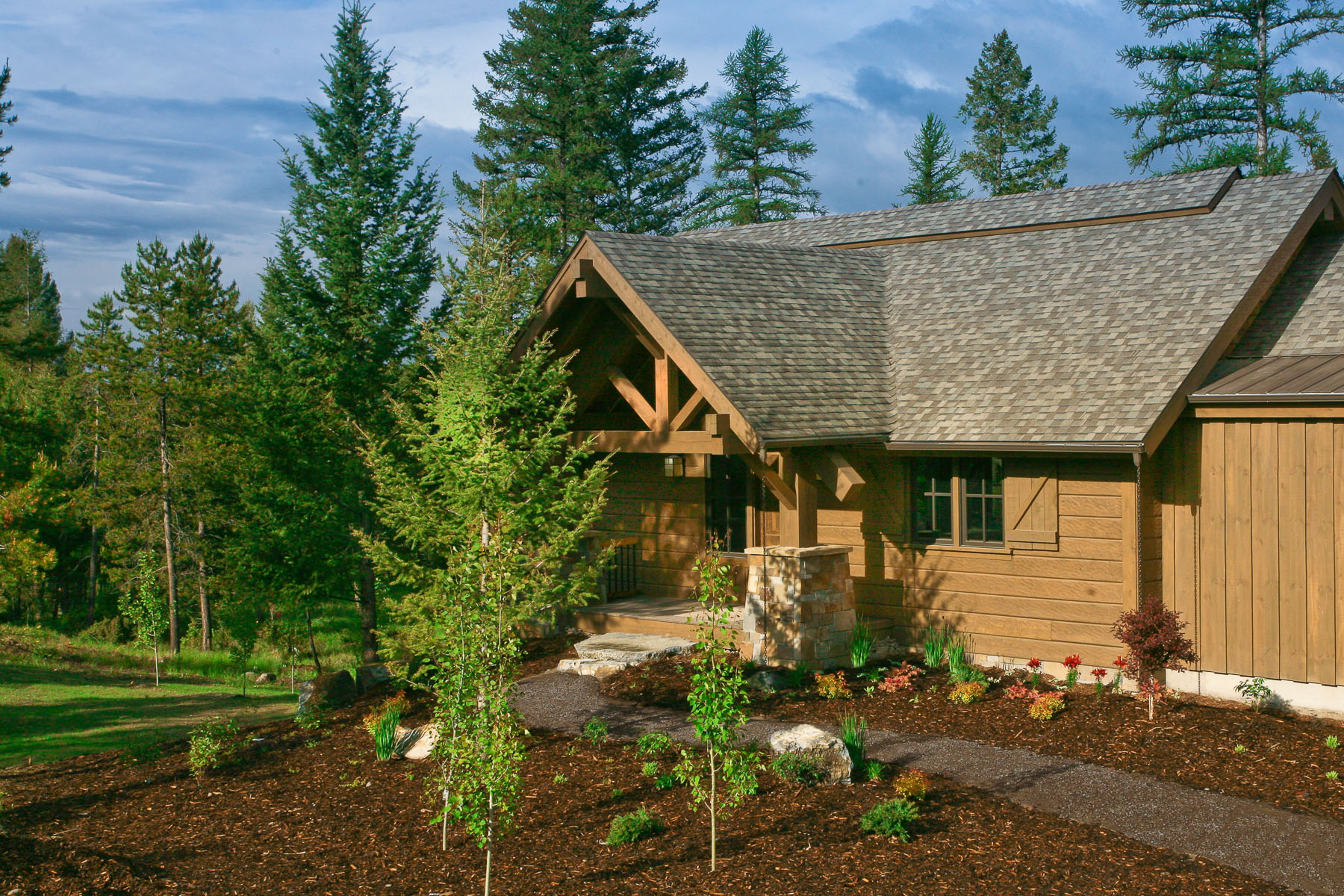 Custom Home between Kalispell and Whitefish