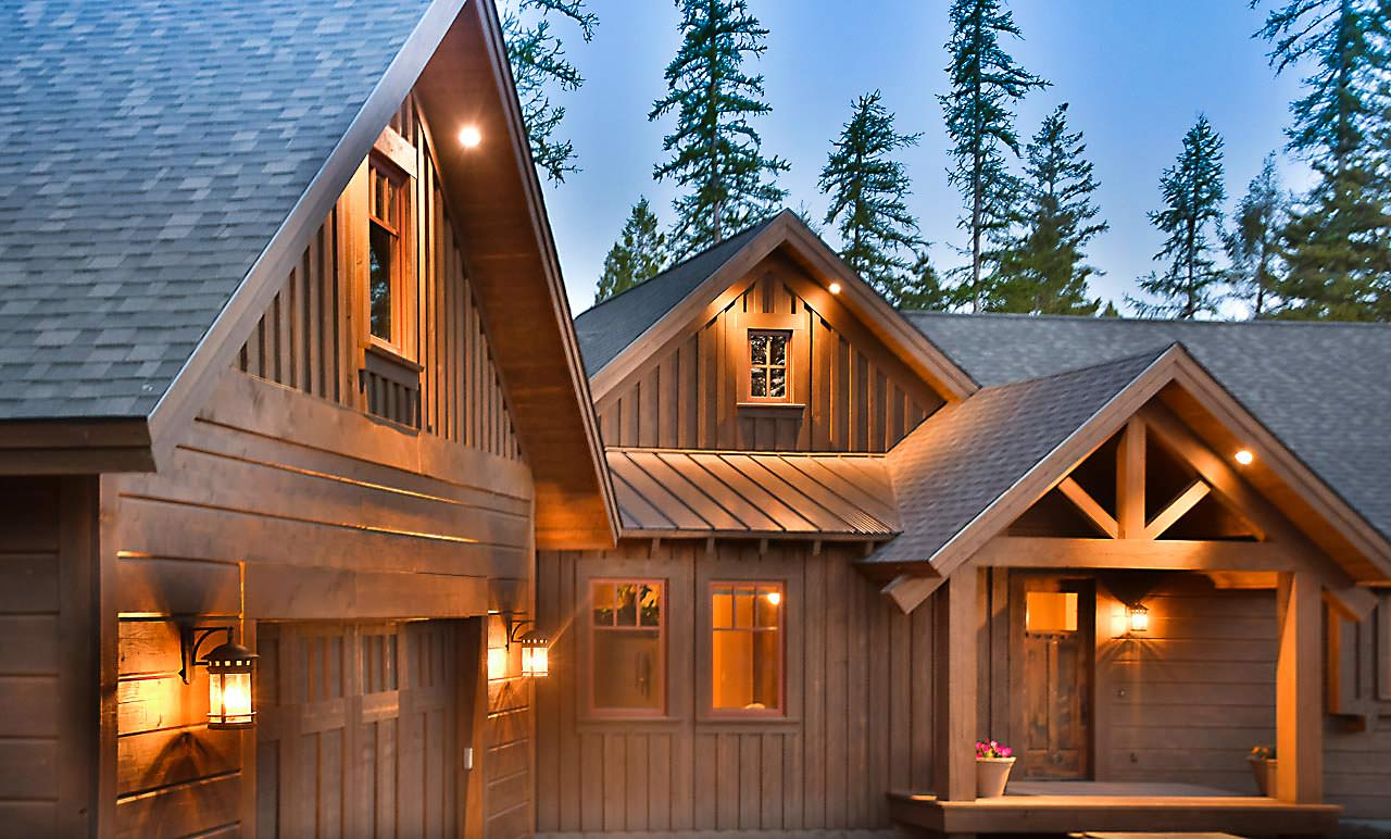 The Marmot custom home builder in Whitefish