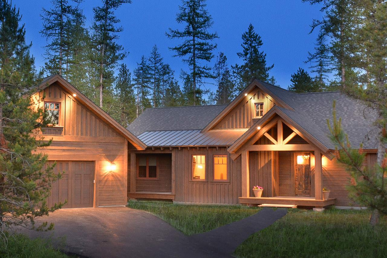 The Marmot custom home builder in Whitefish