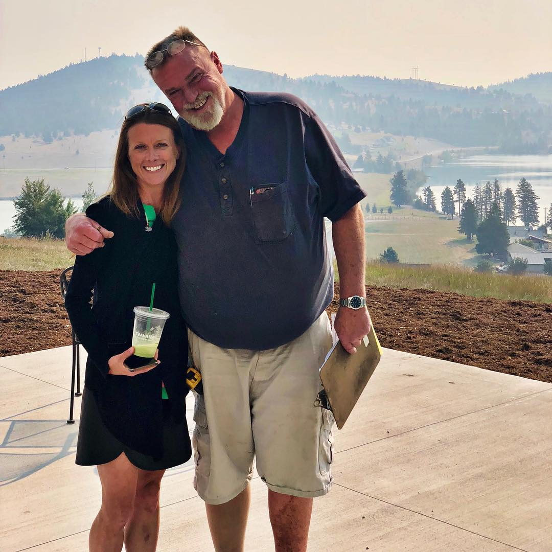 @cmtfabrication is the best in the valley...I always try to talk him into something crazy...and he usually says yes whitefish custom home builder