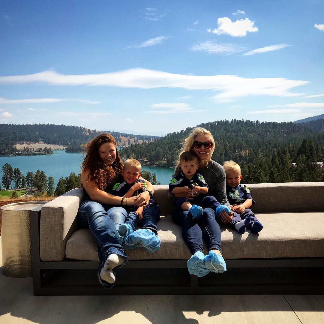 It was a VERY good weekend!! whitefish custom home builder