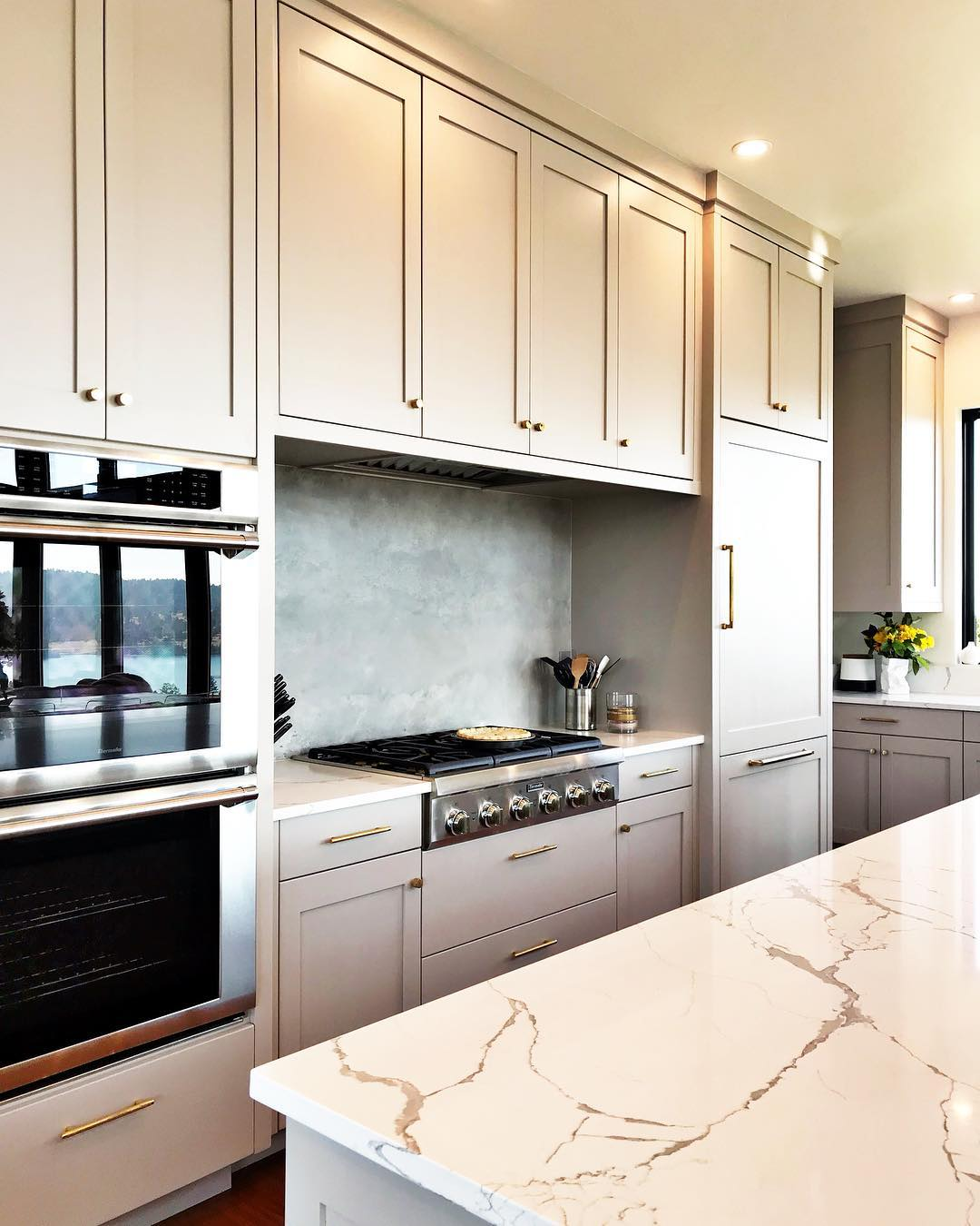 It's a contender for best kitchen...no doubt!! whitefish custom home builder