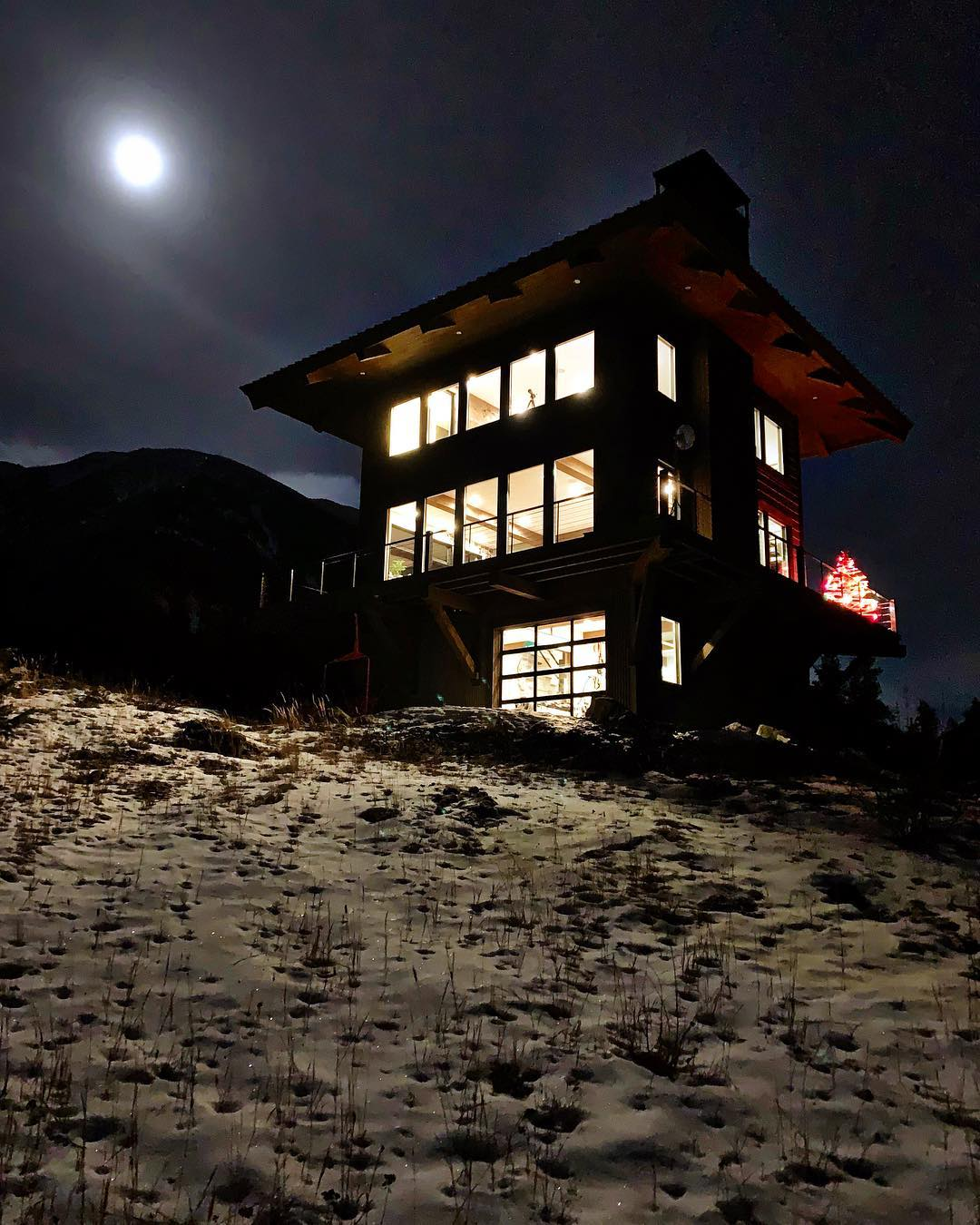 Full moon perfection whitefish custom home builder