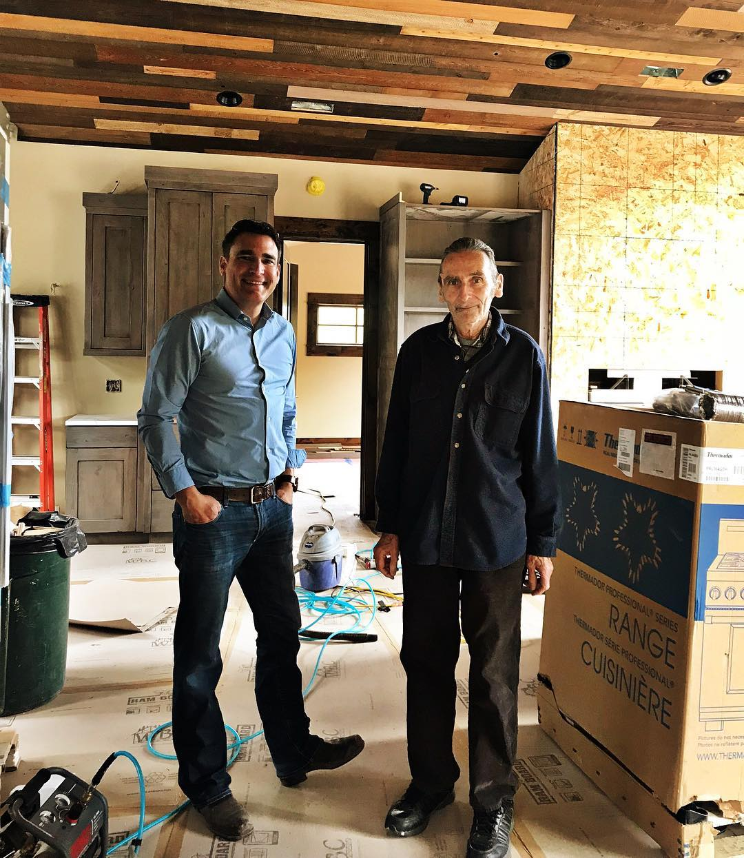 Old MT lost a dear friend today, Ray Blais...we will miss the office visits and site tours and pie at Loula's ️ whitefish custom home builder
