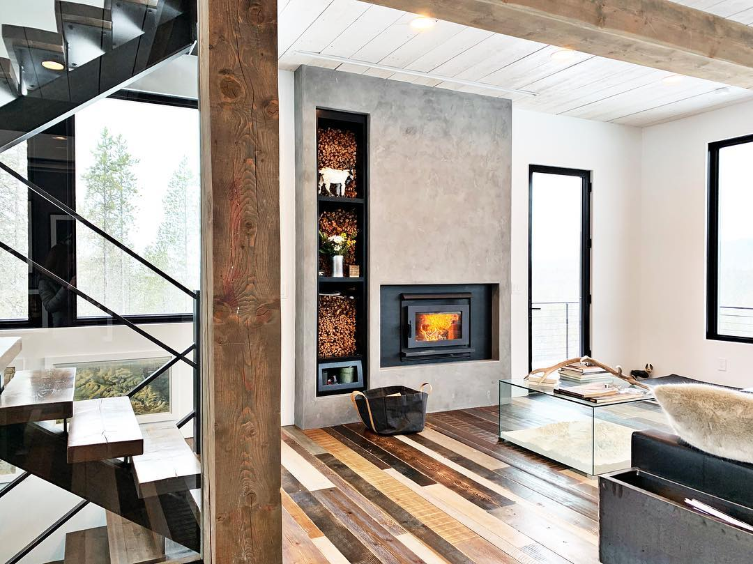 I don't want to leave the house whitefish custom home builder
