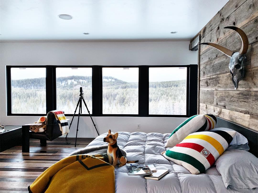 Good morning Montana ️ whitefish custom home builder