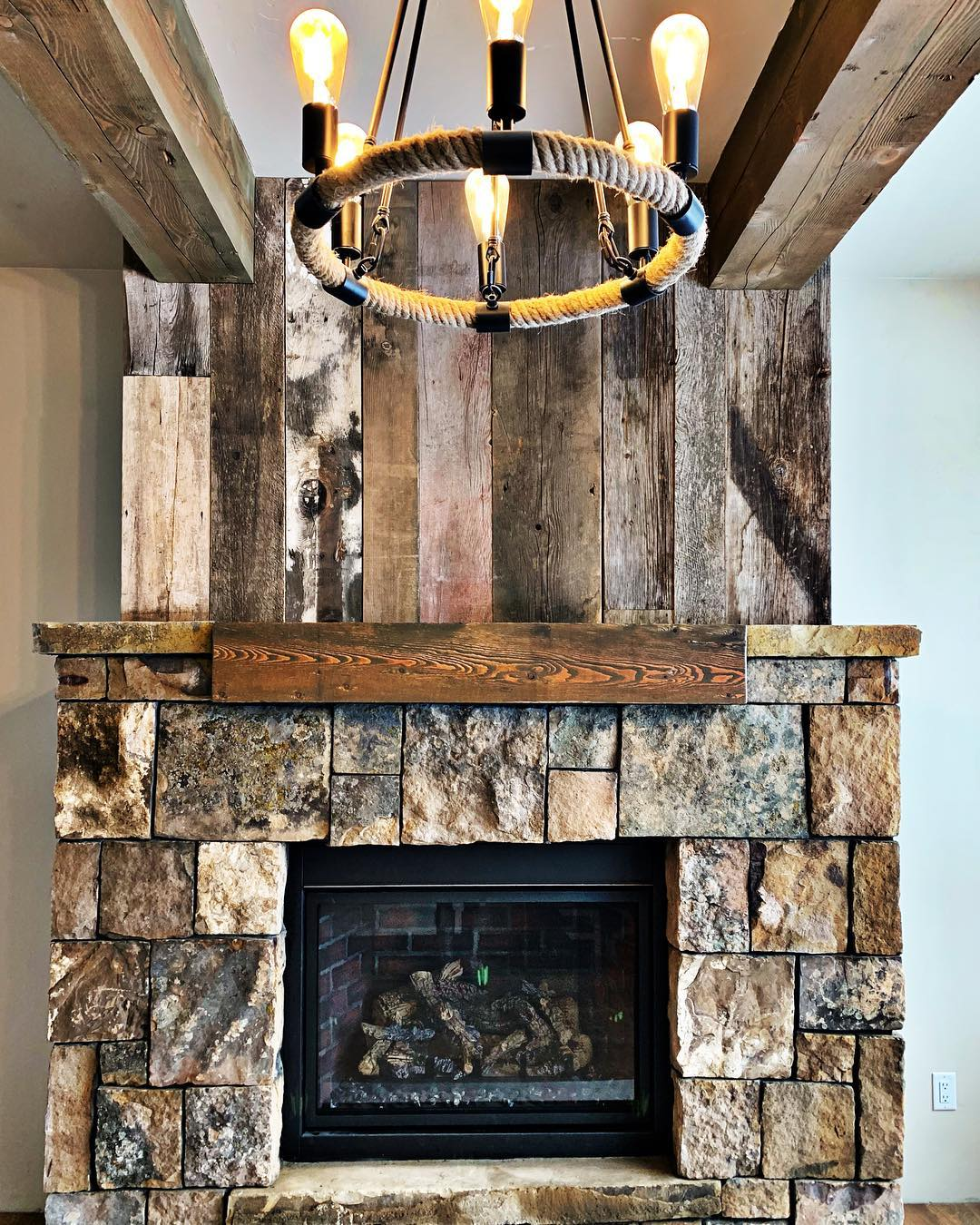 Love when all the details come together just right! whitefish custom home builder