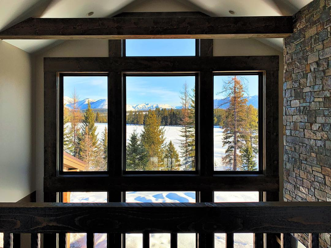 Room with a view whitefish custom home builder