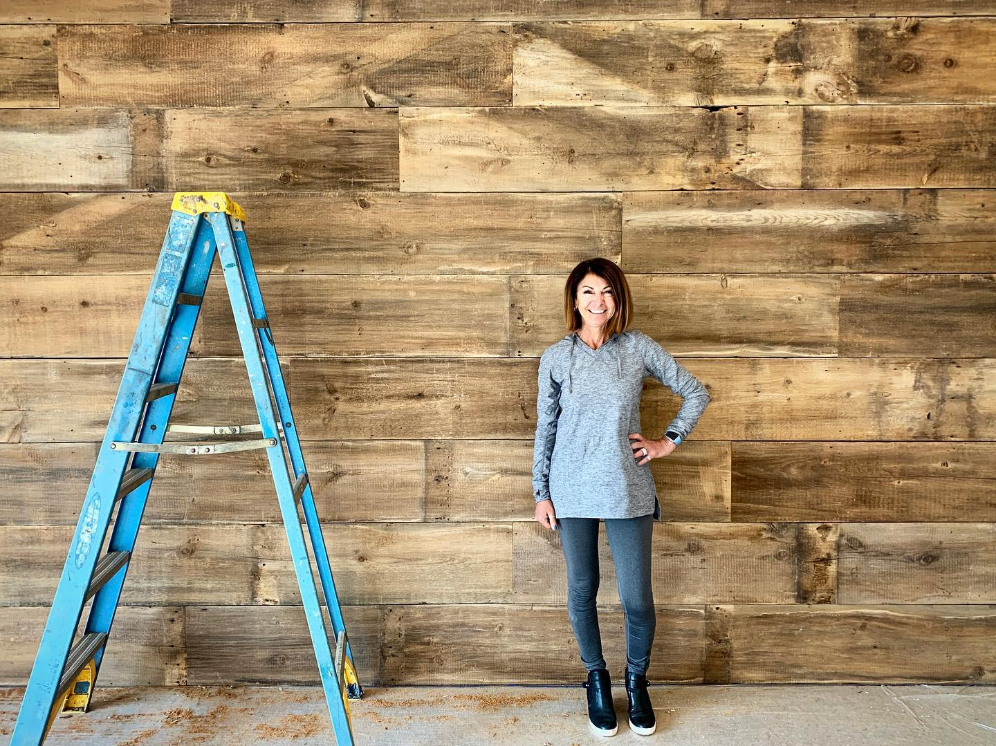 Now that's a wood wall!!  and yes, my Dad cleaned every one of these boards by hand to get it to look this darn good!! whitefish custom home builder
