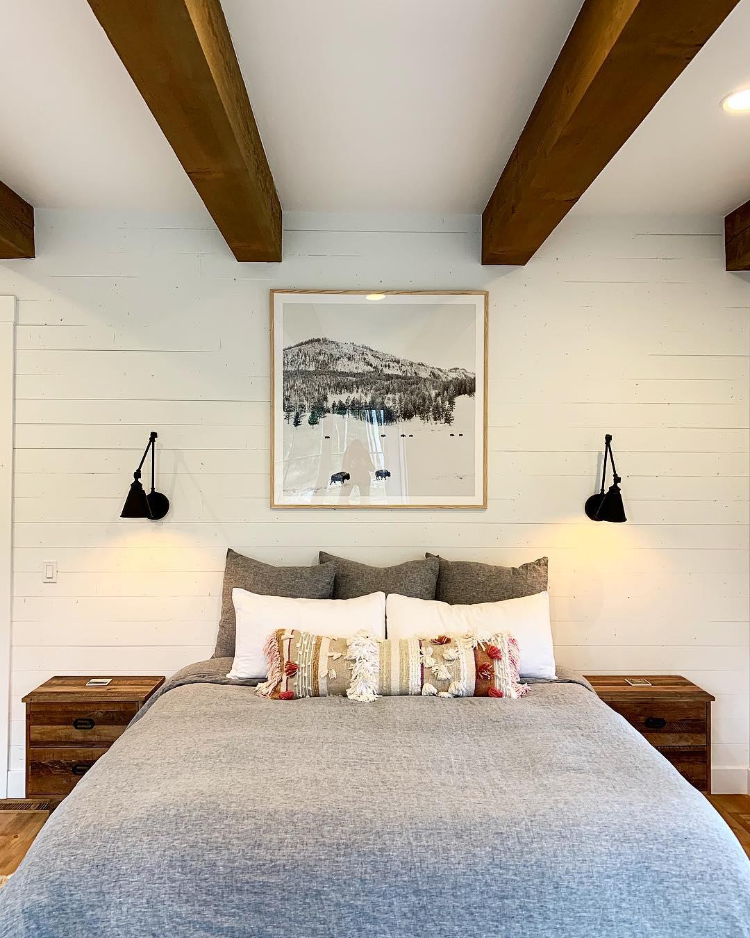Shiplap meets mountain modern whitefish custom home builder