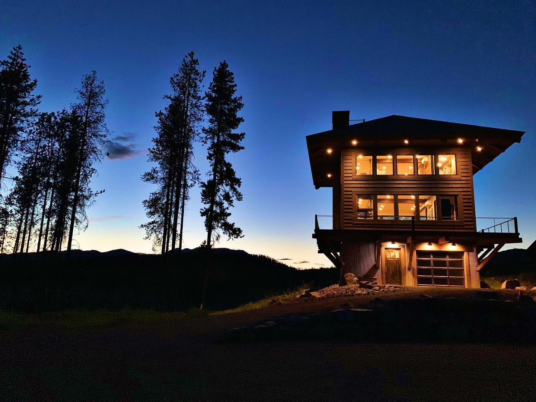 Ahhhh summer nights! whitefish custom home builder