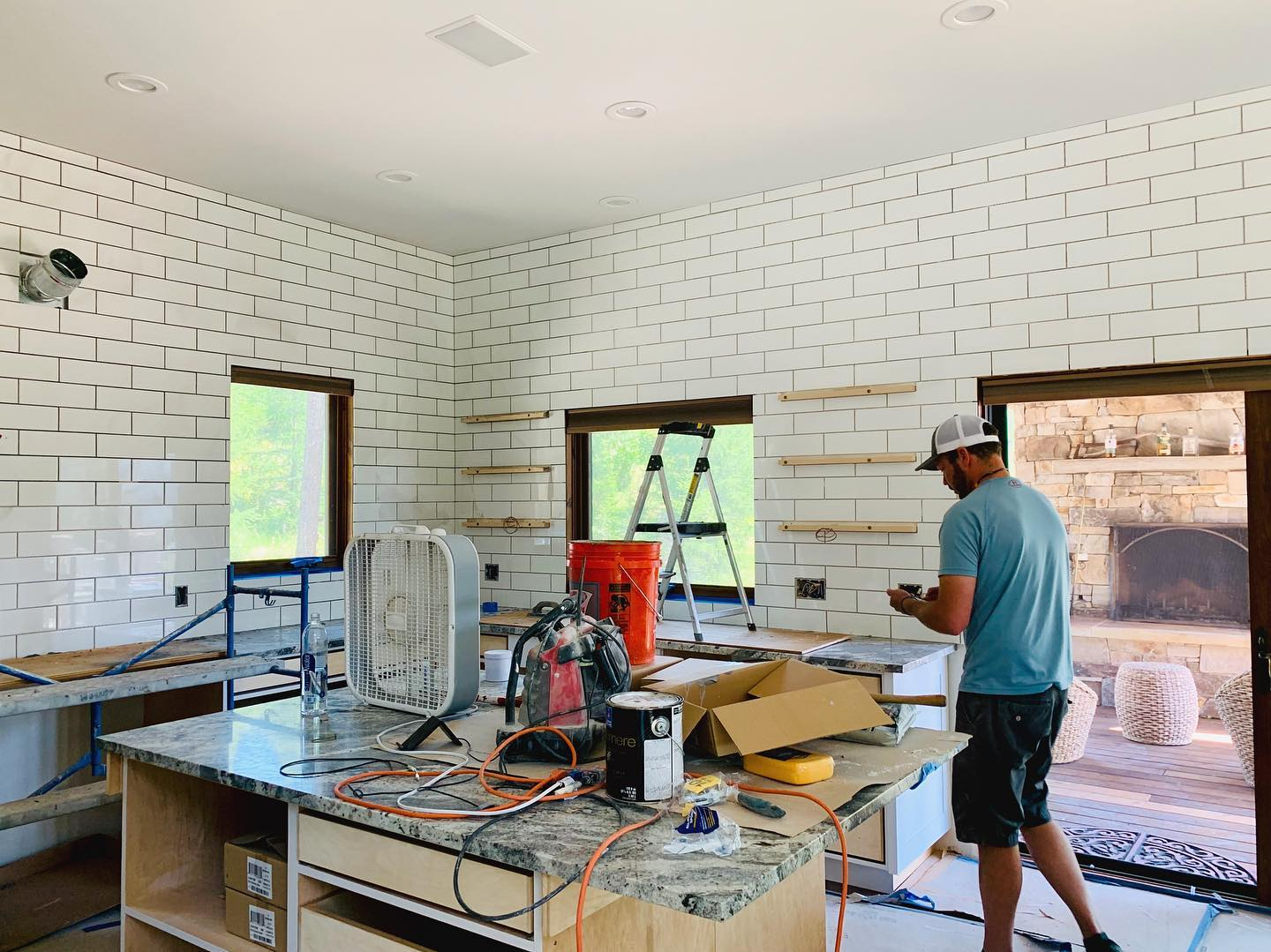 Mountain House remodel is pulling itself together with the final details whitefish custom home builder