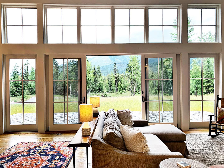 We like windows whitefish custom home builder