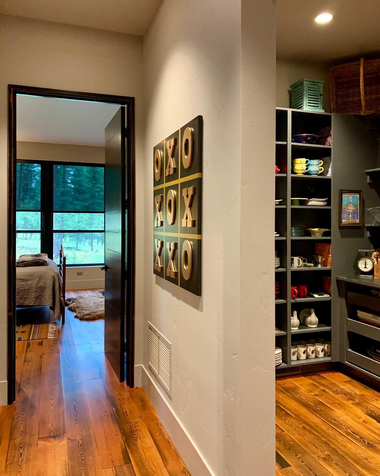 Finished product! @cmtfabrication whitefish custom home builder