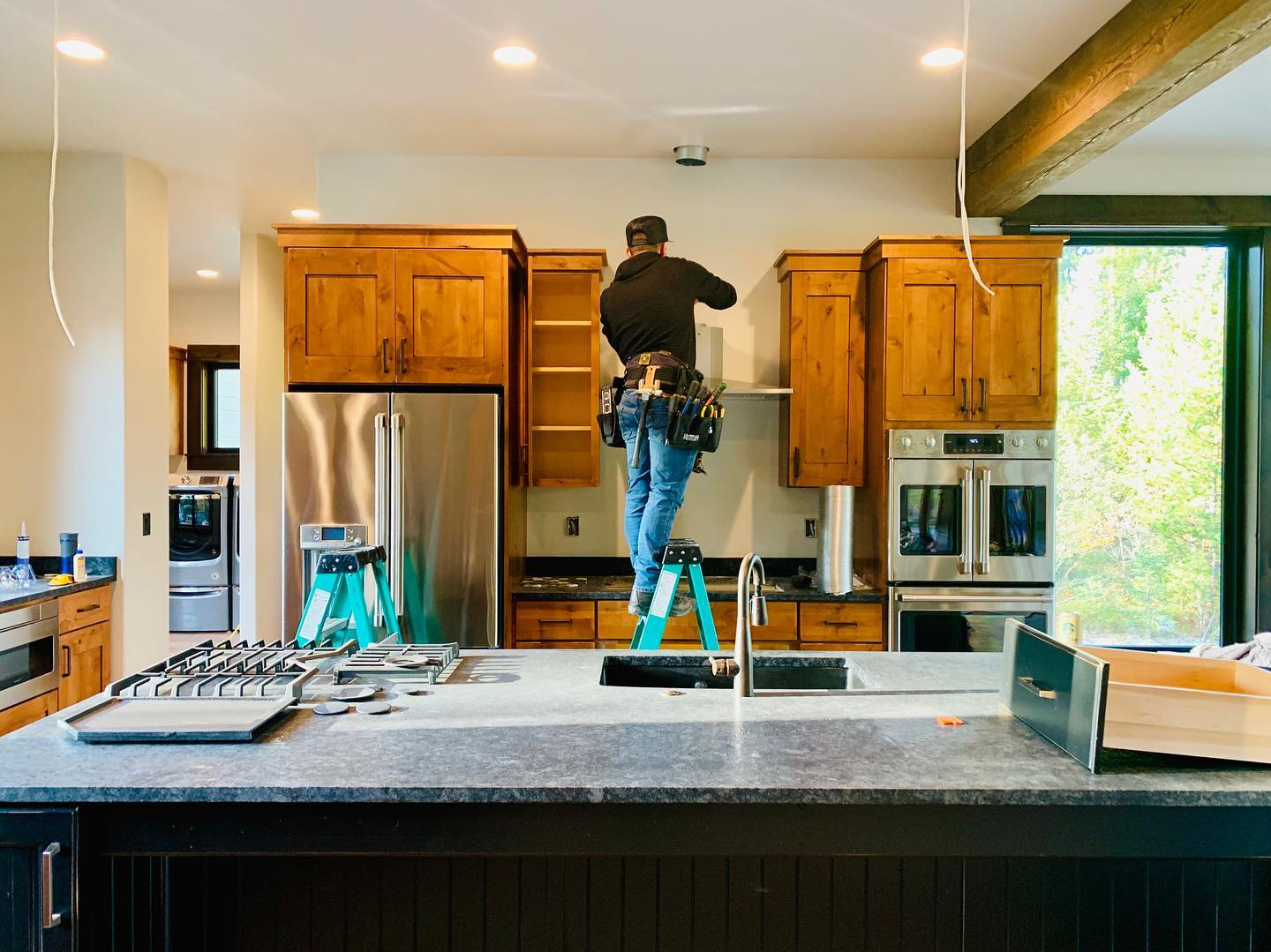 Perfectionists  @forceelectricco whitefish custom home builder