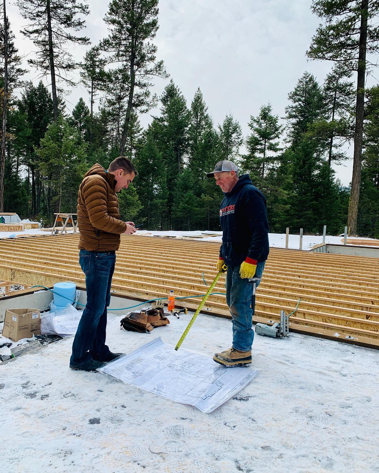 And we are starting another one! whitefish custom home builder