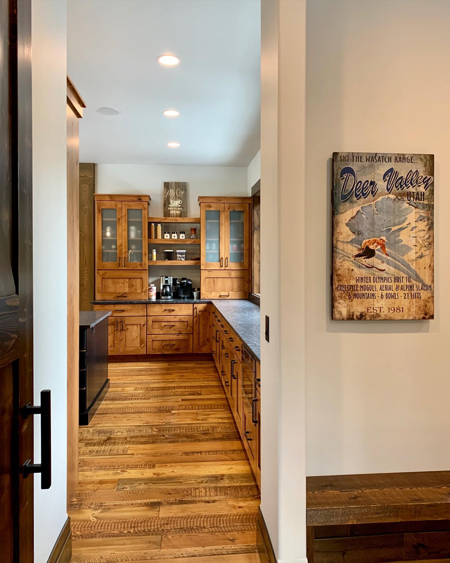 Mountain modern  I love getting to redefine this term. whitefish custom home builder