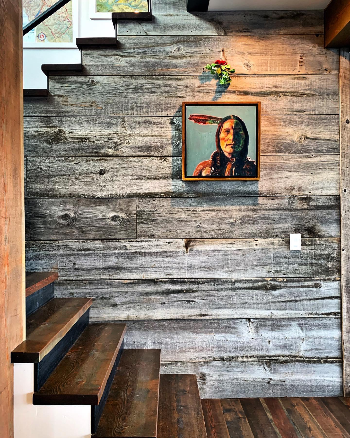 Mistletoe is up  @frameref_whitefish @ahaze2 whitefish custom home builder