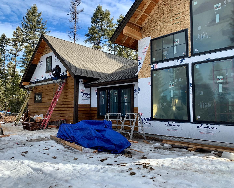 Feels like spring in Whitefish! whitefish custom home builder