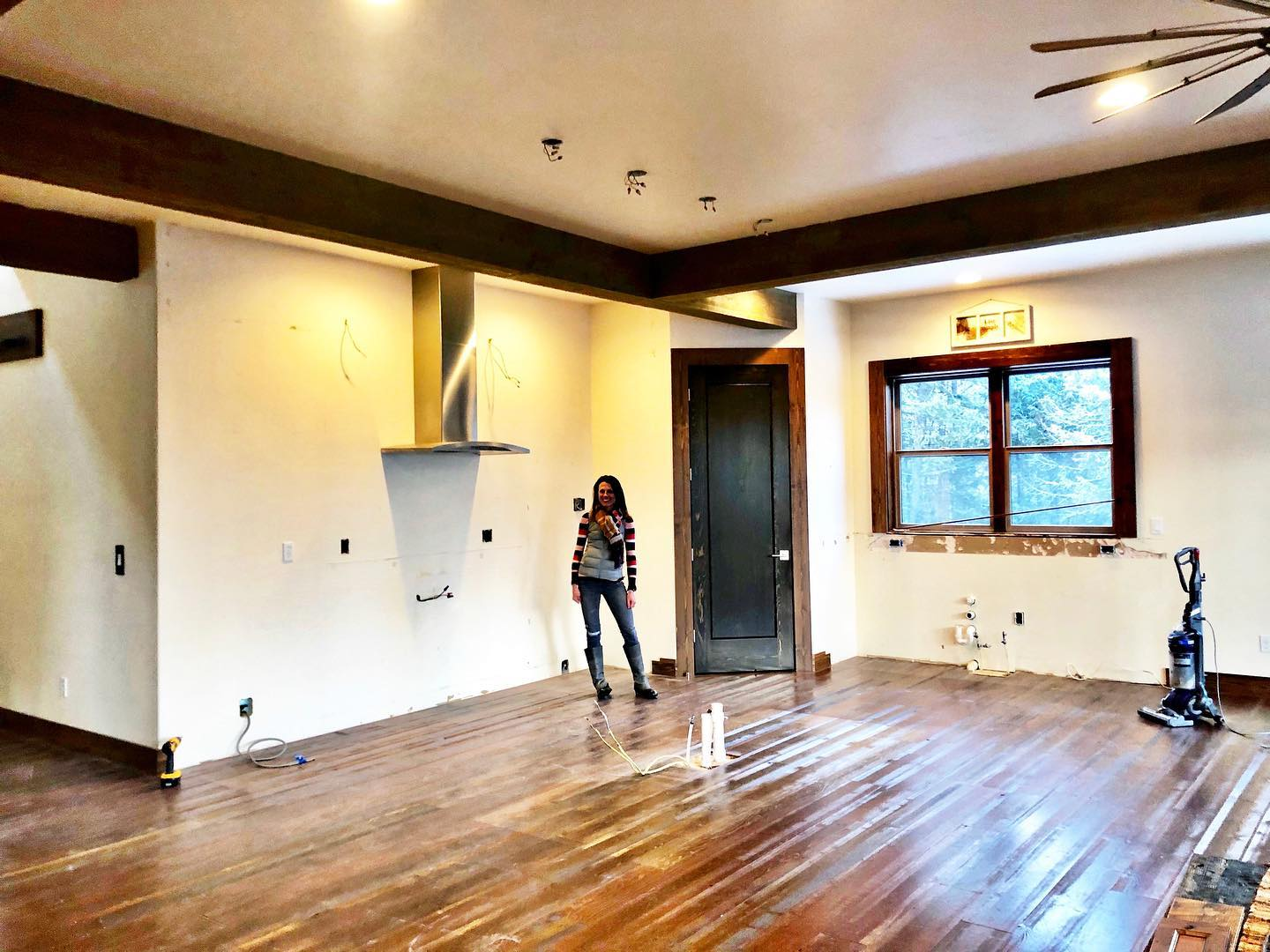 It's a first...we came back 5 years after building a house and took out the entire kitchen for new owners who wanted something a little different!! This job is never dull...and some how I plan to repurpose them ! @awiwoodworks whitefish custom home builder