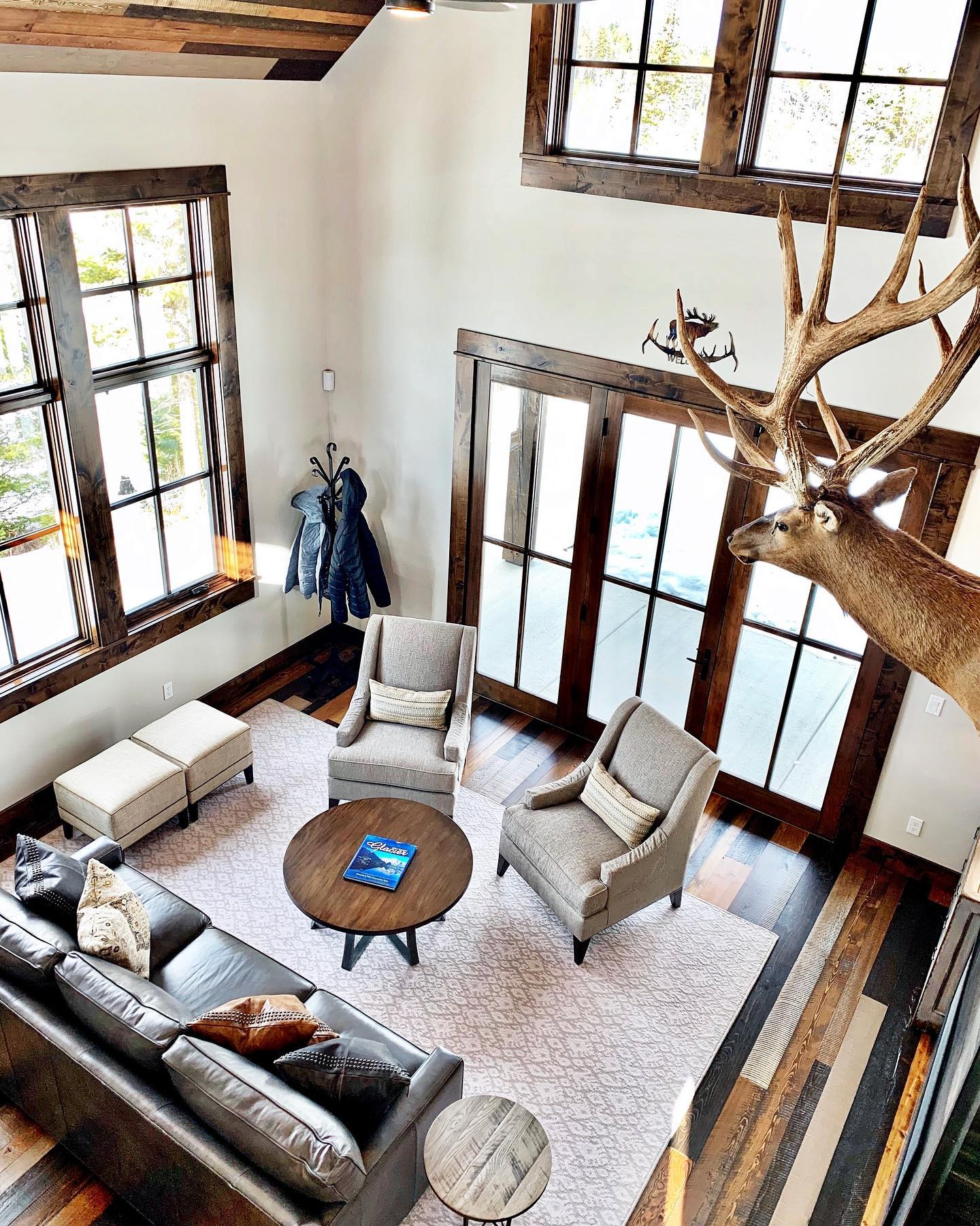 How great is this space?? whitefish custom home builder