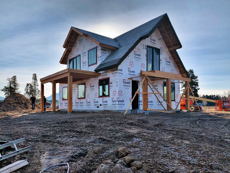 Good morning! ️ whitefish custom home builder
