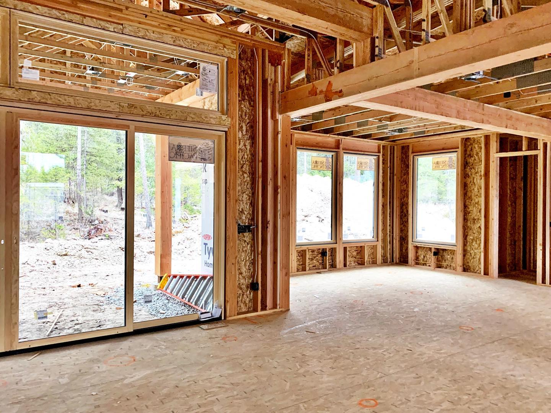 Windows and rooflines! whitefish custom home builder