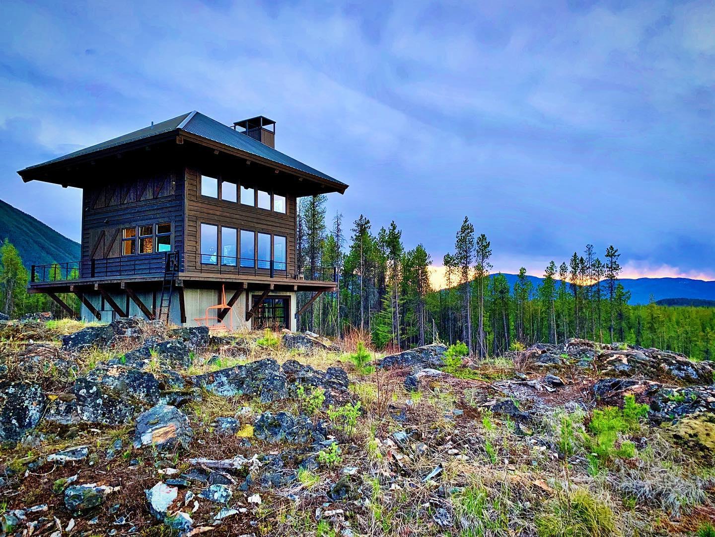 Love those Montana clouds whitefish custom home builder